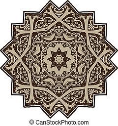 mandala, conception