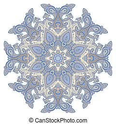 mandala, dekoratív, pattern.