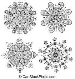 mandala, für, dein, design