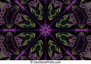 mandala, fractal