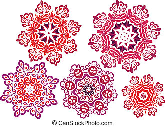 Mandala henna