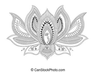 Lotus Flower Tattoo Clip Art And Stock Illustrations 2 926 Lotus