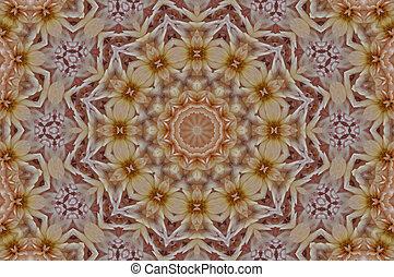 Mandala, mjuk, bakgrund