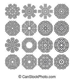 mandala motif vector