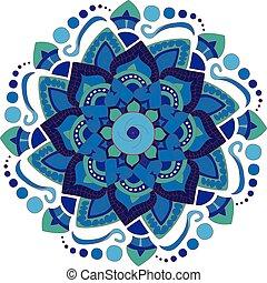 mandala, okrągły