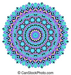 Mandala on a white background