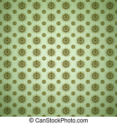 Mandala Stars Background Pattern