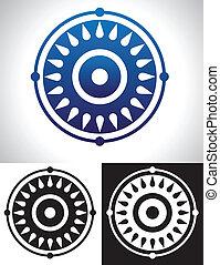 Mandala Symbolism - Mandala Symbol abstract image.