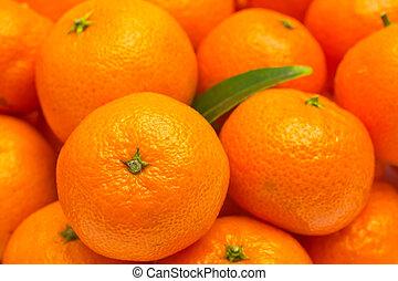 Mandarin - Background of mandarin