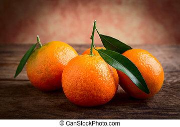 Mandarin citrus fruit
