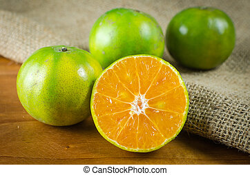 mandarin, fruta, laranja