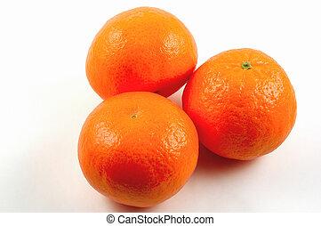 mandarin - Mandarin oranges with Clipping Path