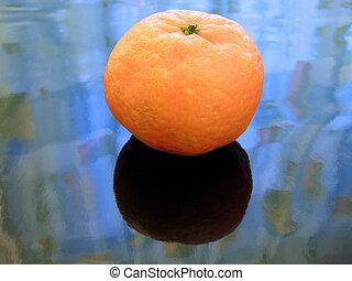 Mandarin on ice