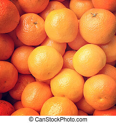 Mandarin Orange Background