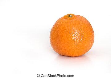 Mandarin orange - Mandarin Orange close-up, isolated