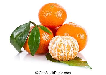 Mandarine fruits