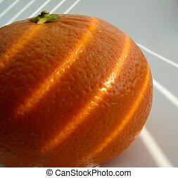 mandarine, -, peau