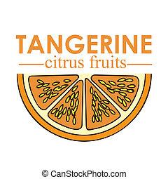 mandarino, frutta, agrume