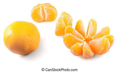 mandarins, trois