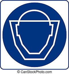 Mandatory Signs - Protective Mask Must Be Worn In This Area