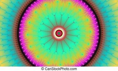 Mandelbrot fractal light abstract pattern
