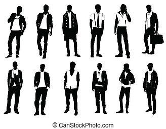mandlig, mode