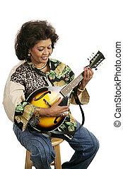 mandolina, juego