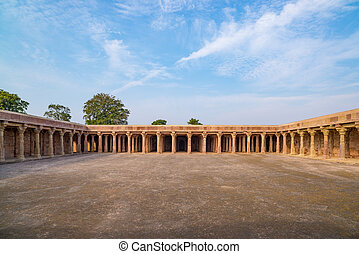 Mandu India, afghan ruins of islam kingdom, mosque monument...