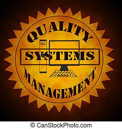 manejo qualidade, sistema