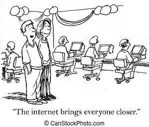 maneras, diversión, batidoras, conectar, internet