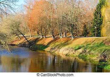 manga, de, mukhavets, rio, ligado, território, de, brest, fortaleza, belarus