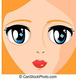 manga face 2
