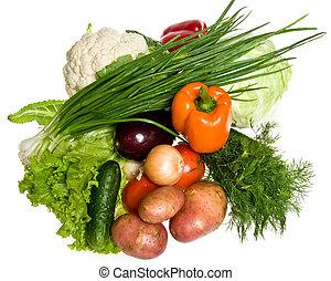 mange, grønsager