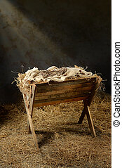 Manger and Crown of Thorns