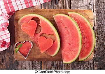 manger sain, pastèque
