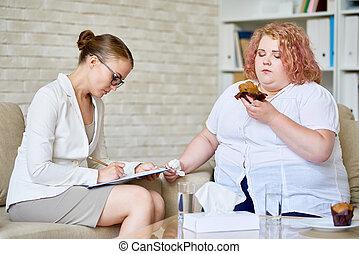 mangiare, coercitivo, disordine