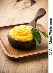 Mango body butter.