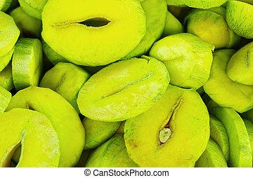 mango, fruit.