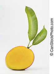 mango fruit isolated on white background