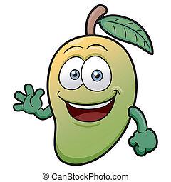 Mango - Vector illustration of a Mango Character