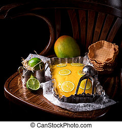 Mango Lime ice