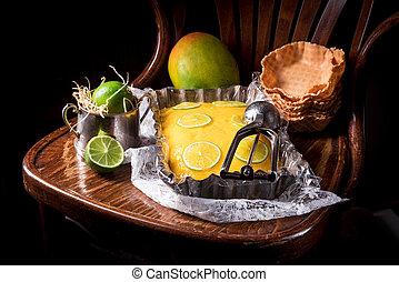 Mango Lime ice