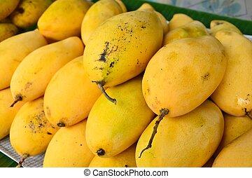 mango, reif
