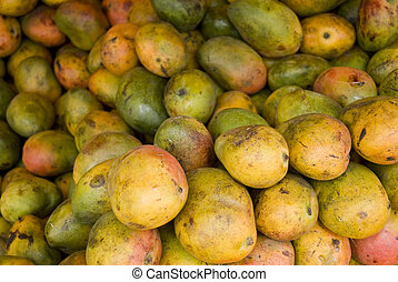 Mangos in a market