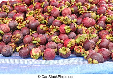 mangosteen at street food