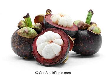 mangoustan, fruit