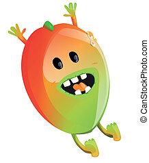 mangowiec, rysunek