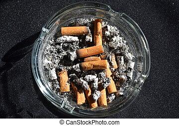 manhã, cigarro