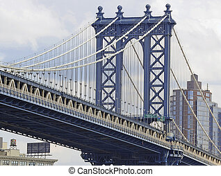 manhattan brücke, new york city