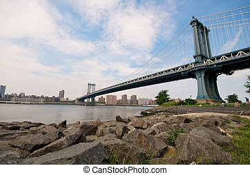 Manhattan Bridge in New York